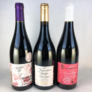 ボジョレーヌーボー 2018 飲み比べ 当店おすすめボジョレー ヴィラージュ ヌーヴォー 750ml 飲み比べ3本セット|plat-sake