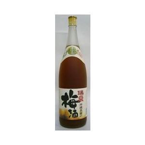 梅酒 瑞泉 黒糖梅酒 12度 1800ml 沖縄 琉球泡盛仕込み|plat-sake