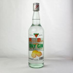 R&B ストロング・ブル レモン・ドライ ジン 40% 700ml|plat-sake