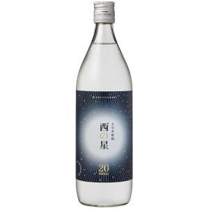 麦焼酎 三和酒類 西の星 20度 瓶 900ml むぎ焼酎|plat-sake