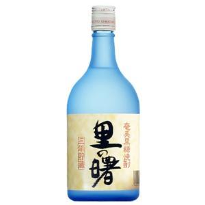 黒糖焼酎  里の曙 25度 瓶 720ml|plat-sake