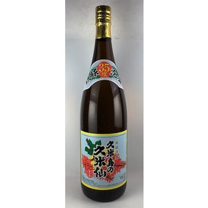 泡盛 琉球泡盛 久米島の久米仙 でいご  35度 カートン入 1800ml|plat-sake