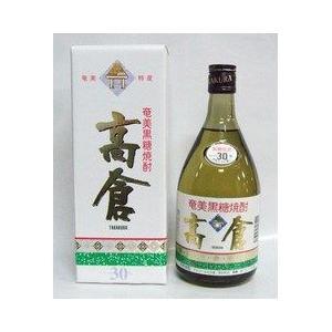 黒糖焼酎 高倉 30度 720ml|plat-sake