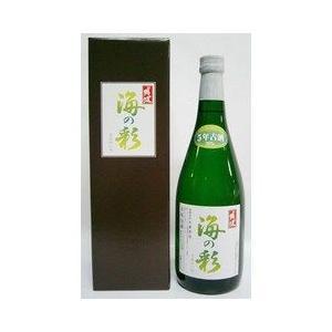 泡盛 比嘉酒造 海の彩 35度 グリーン瓶 カートン入 720ml|plat-sake