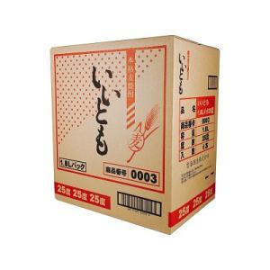 麦焼酎 送料無料 いいとも 25度 1800ml (1.8L) パック × 12本  plat-sake 03