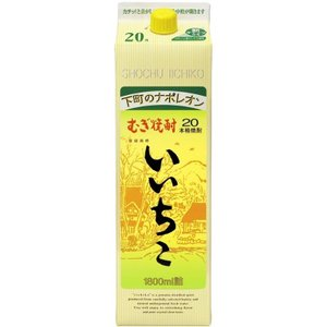 麦焼酎 いいちこ 20度 1.8Lパック|plat-sake