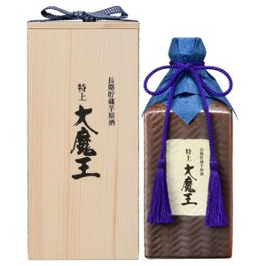 芋焼酎 送料無料 本格芋焼酎 特上  大魔王 長期 原酒 36度 600ml plat-sake