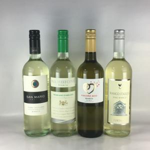 ワインセット 白ワイン 送料無料  すべてスクリューキャップ   イタリア 白ワイン 4本セット|plat-sake