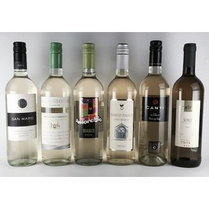 ワインセット 白ワイン 送料無料  イタリア 厳選 白ワイン 6本セット|plat-sake