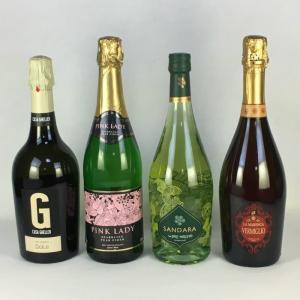 ワインセット 送料無料 ジュース感覚で飲めて ほろよい気分 甘口スパークリングワイン 飲み比べ4本セット|plat-sake