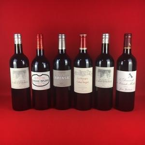 ワインセット 赤ワイン 送料無料   厳選 フランス ボルドー  セカンドワイン   赤ワイン 6本セット ver2|plat-sake