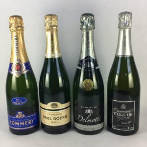 ワインセット スパークリングワイン 送料無料 フランス  シャンパン 飲み比べ 4本セット|plat-sake