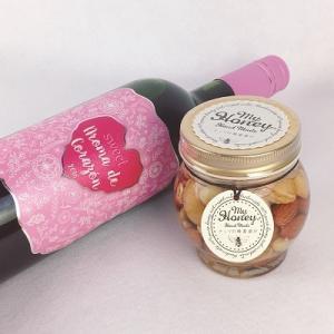 ギフト 甘口ワインと蜂蜜ナッツ 限定セット 送料無料 プレゼント アロマデコラソン マイハニー ワイン|plat-sake
