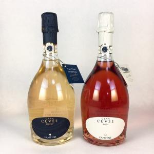 ワインセット スパークリングワイン 送料無料 ファンティーニ スプマンテ 白 ロゼ 2本セット|plat-sake