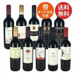 ワインセット 赤ワイン 送料無料 コスパ最高のデイリーワイン 赤ワイン 10本セット Ver.2|plat-sake