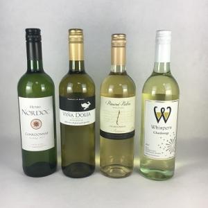 ワインセット 白ワイン 【送料無料】世界のシャルドネ 飲み比べ 白ワイン 4本セット 〜同じぶどう品種で飲み比べ〜 plat-sake