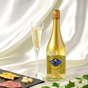 スパークリングワイン 金箔入り ブルーナン ゴールドエディション 750ml ドイツ |plat-sake