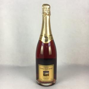 スパークリングワイン ビーニャ サン ホセ カヴァ レゼルバ  ロゼ  750ml|plat-sake