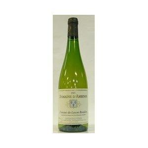 白ワイン フランス ドメーヌ・ダンビノ コトー・デュ・レイヨン・ボーリュー 1983|plat-sake