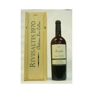 赤ワイン シャトー ラ コラ リヴサルト 1970  赤ワイン  750ml|plat-sake