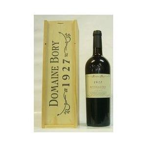 赤ワイン ドメーヌ ボリー リヴザルト 1927 甘口ワイン 木箱入り|plat-sake