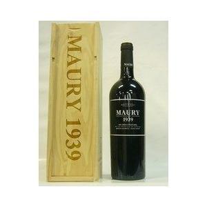 赤ワイン ドメーヌ パシュレ モーリー リブザルト 1939 甘口ワイン 木箱入り|plat-sake