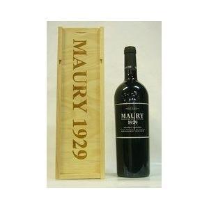 赤ワイン ドメーヌ パシュレ モーリー リブザルト 1929 甘口ワイン 木箱入り|plat-sake