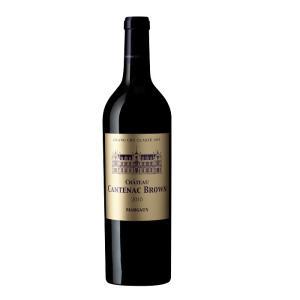 赤ワイン ボルドー シャトー・カントナック・ブラウン 2010 マルゴー 第3級 750ml|plat-sake