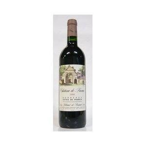 赤ワイン シャトー・ド・フラン 1998 コート・ド・フラン  赤  750ml|plat-sake