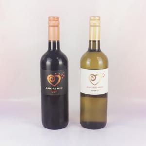 送料無料 ワイン好きの方へ!!ハートマークのイタリアワイン アモーレ・ミーオ(愛の力という意味) 赤白 2本セット|plat-sake