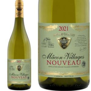ボジョレー ヌーボー 2018 アントワーヌ シャトレ マコン・ヴィラージュ・ヌーヴォー 750ml 白ワイン|plat-sake