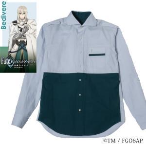メンズ カジュアルシャツ 長袖 標準型 Fate/GrandOrder 「ベディヴィエール」モデル カッタウェイ EAFG01-01|plateau-web
