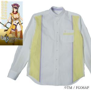 メンズ カジュアルシャツ 長袖 標準型 Fate/GrandOrder 「玄奘三蔵」モデルスタンドカラー EAFG01-07|plateau-web