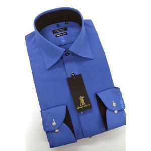 メンズ 衣装 社交ダンスシャツ 長袖 形態安定 標準型 HybridSensor ワイドスプレッド P12HBW208 plateau-web