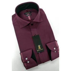 ワイシャツ Yシャツ メンズ長袖 スナップダウン 形態安定 HybridSensor P12HBZD57|plateau-web