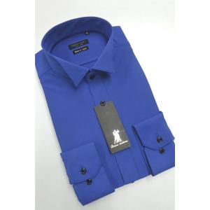 ワイシャツ Yシャツ メンズ長袖 ウィングカラー 形態安定 HybridSensor P12HBZW02|plateau-web
