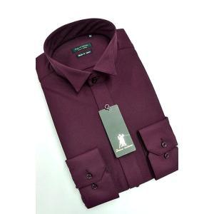 ワイシャツ Yシャツ メンズ長袖 ウィングカラー 形態安定 HybridSensor P12HBZW04|plateau-web