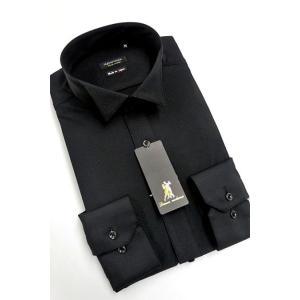 ワイシャツ Yシャツ メンズ長袖 ウィングカラー 形態安定 HybridSensor P12HBZW06|plateau-web