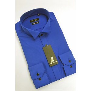 ワイシャツ Yシャツ メンズ長袖 ウィングカラー 形態安定 HybridSensor P12HBZW07|plateau-web