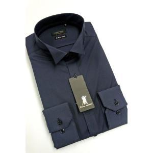 ワイシャツ Yシャツ メンズ長袖 ウィングカラー 形態安定 HybridSensor P12HBZW08|plateau-web