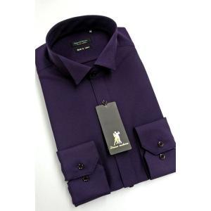 ワイシャツ Yシャツ メンズ長袖 ウィングカラー 形態安定 HybridSensor P12HBZW10|plateau-web