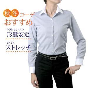 レディースシャツ 長袖 形態安定 標準型 ORANGEFIELD P31RFA092 plateau-web