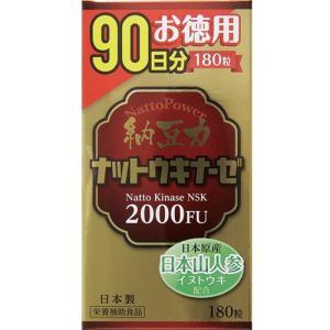 納豆力 ナットウキナーゼ 90日分 180粒