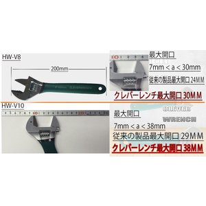 【DM便送料無料】 クレバーレンチ HW-V10 (CLEVER WRENCH) 多機能レンチ 多機能モンキー platina-shop 03