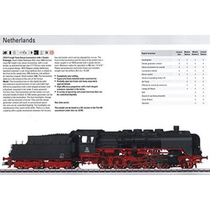 鉄道模型 Steam Class 4900 2-10-0 - Sound & Digital Equipped -- Dutch State Railways NS #4906 (Era III, black, red)