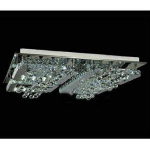 キャンプ用品 GOWE modern LED crystal ceiling lighting fixture aslo