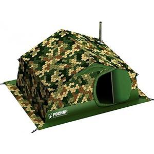キャンプ用品 Winter Tent with Stove Pipe Vent. Outfitter Hunting Fishing Camping Tent with Wood Stove. 4 Season Tent. Expedition Arctic Living Warm
