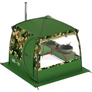 キャンプ用品 Bath Sauna Tent with Stove Pipe Vent. Hunting Fishing Outfitter Camping Tent with Wood Stove. 4 Season Tent. Expedition Arctic Living