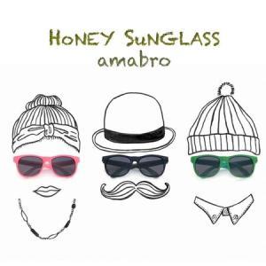 amabro HONEY SUNGLASS アマブロ ハニーサングラス Pink/Black/Green/Yellow 対象年齢3歳〜6歳|play-d-play