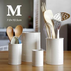 M Ceramic Can セラミックカン Mサイズ 城戸 雄介 空き缶 磁器 カトラリースタンド 花器 ツールスタンド|play-d-play